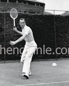 英国传奇网球选手Fred Perry先生