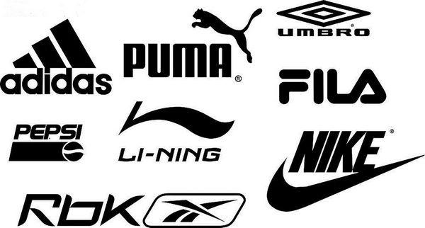 主流品牌运动用品标志