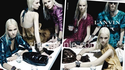 朗雯 Lanvin高级时装的设计风格及款式