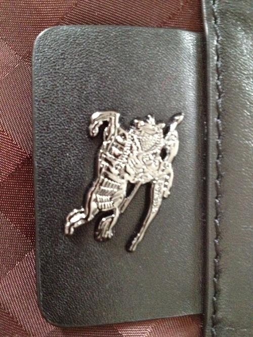 burberry假包的马唛图示