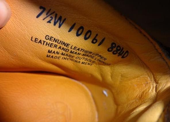 Timberland 天伯伦10061产自USA的都是假货