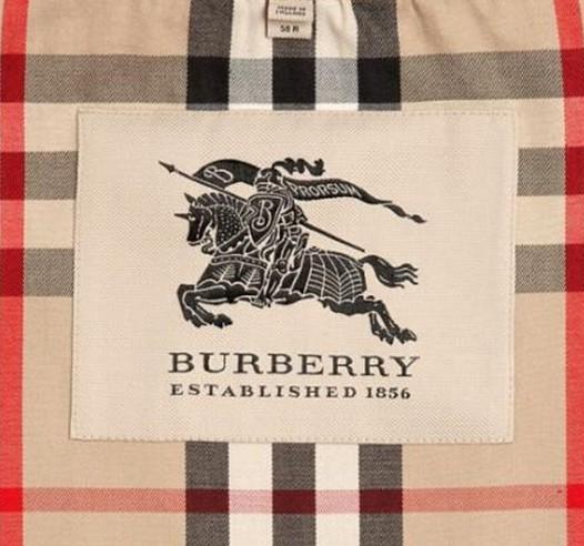 BURBERRY官网风衣马标