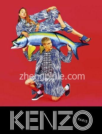 kenzo高田贤三时尚海报