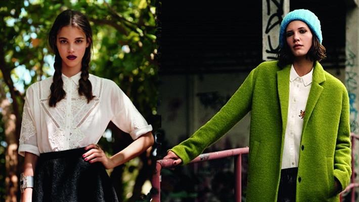 英国快时尚品牌topshop时尚宣传海报