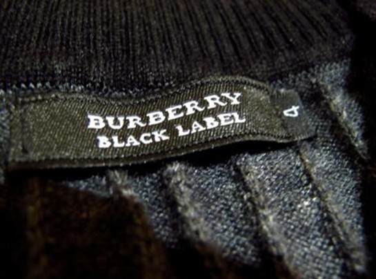 Burberry black label图示