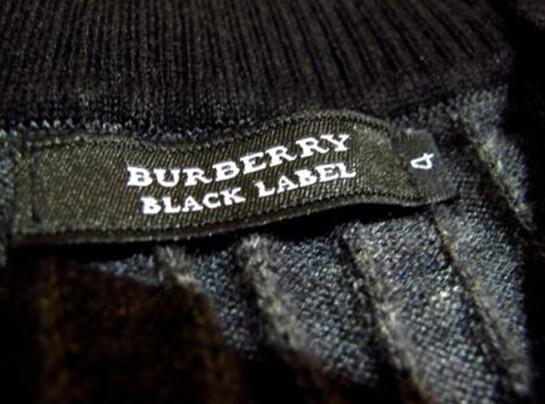 Burberry black label图示