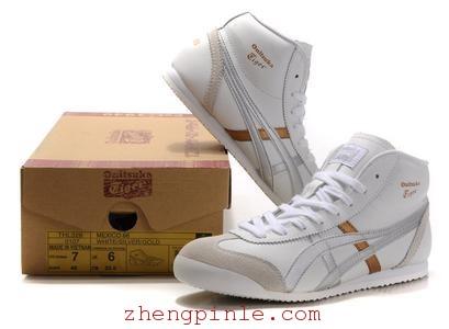 Asics潮版鞋及鞋盒外观