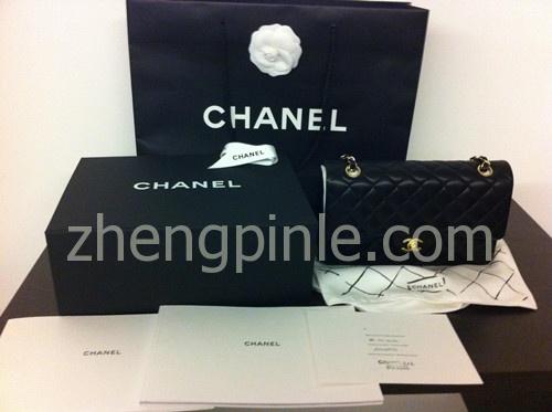 正品香奈儿chanel包的专柜全部包装图
