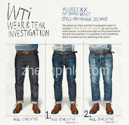 养牛仔裤的时间表和效果图