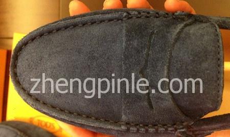 Tod's豆豆鞋所用的皮料都是顶级的优质皮料