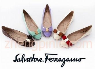 菲格拉慕平底靴