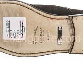 Ferragamo鞋Tramezza系列鞋底