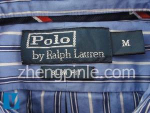 Ralph Lauren衬衫的领标