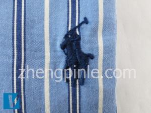 正品RL衬衫上的马球运动员刺绣