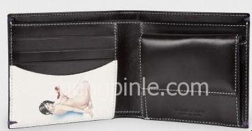 保罗史密斯paul smith钱包的裸女图案
