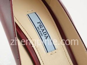正品PRADA高跟鞋的鞋垫