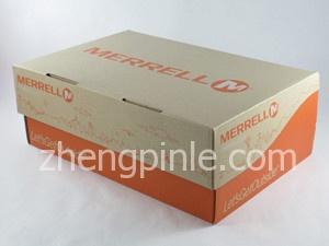MERRELL鞋的包装