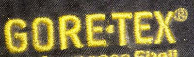 刺绣的GORE-TEX标志
