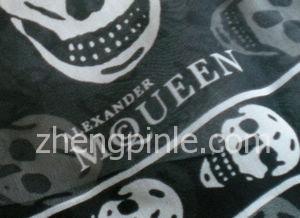 麦昆真品丝巾品牌标志