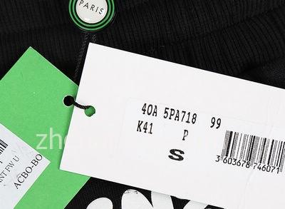 正品KENZO衣服的吊牌细节