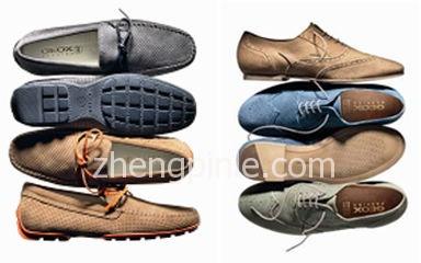 健乐士Geox也拥有很多不同鞋子颜色的配色专利