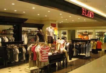 衣恋 E-Land在中国的销售网点分布