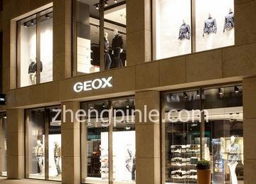 健乐士Geox的中国销售网点分布