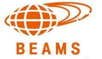 BEAMS地球图案标志