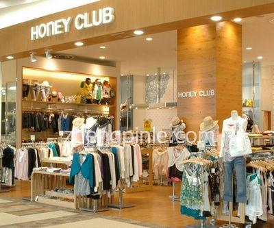 Honeys好俪姿在中国的销售网点