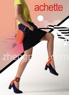 Achette雅氏鞋时尚海报