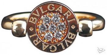 宝格丽 Bulgari钻石珠宝戒指及logo