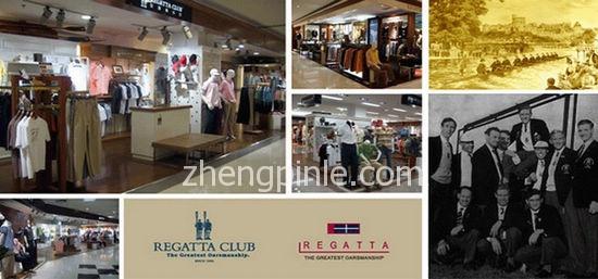 REGATTA CLUB 赛艇俱乐部品牌历史