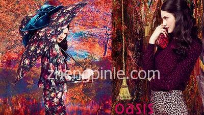 绿洲 Oasis女装时尚大片