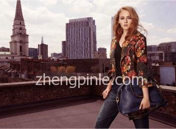 卡伦·米伦karen millen女装最新款时尚宣传海报