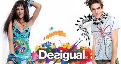 西班牙时尚潮流品牌Desigual时尚海报
