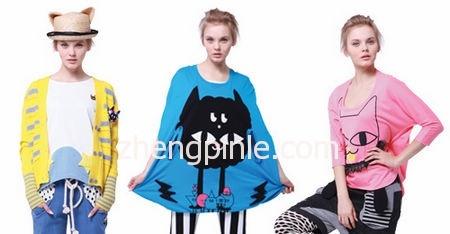 A02新款女装时尚宣传海报