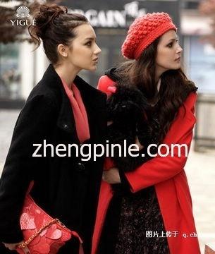 yigue亦谷女装新款时尚宣传海报