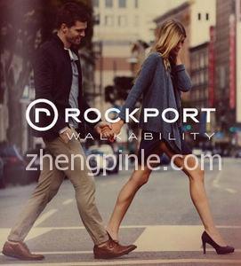 美国乐步Rockport鞋新款时尚宣传海报