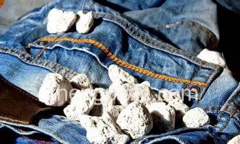 牛仔水洗工艺--石洗
