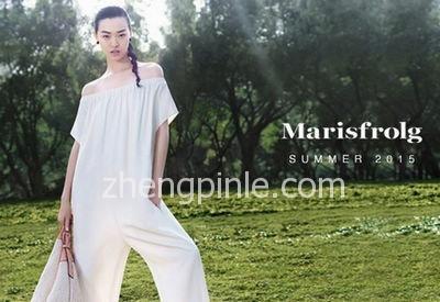 玛丝菲尔Marisfrolg女装2015新款时尚宣传海报