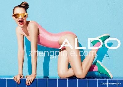 加拿大aldo鞋新款时尚宣传海报