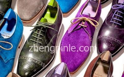 男士皮鞋的种类及选购
