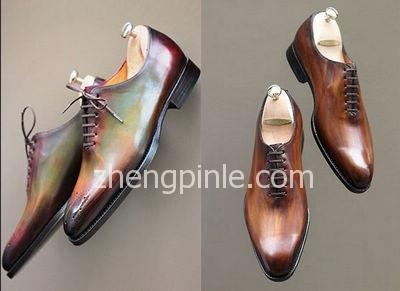 高档男士皮鞋的木质鞋楦
