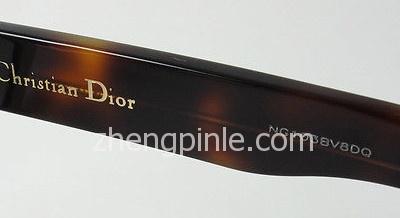 新款Dior迪奥太阳镜的镜腿序列号