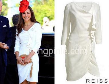 英国王妃Reiss花苞裙