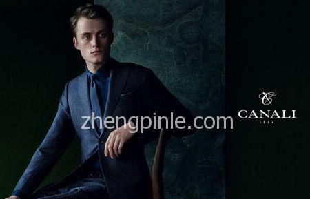 Canali高级男装时尚宣传海报