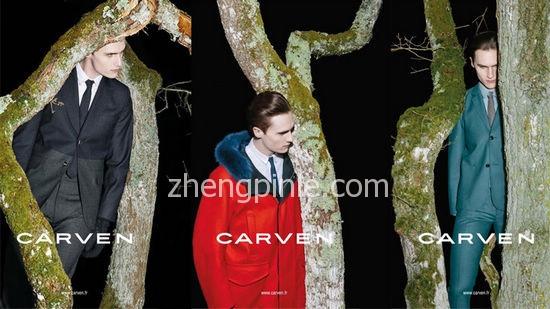 法国高级时装品牌Carven时尚海报