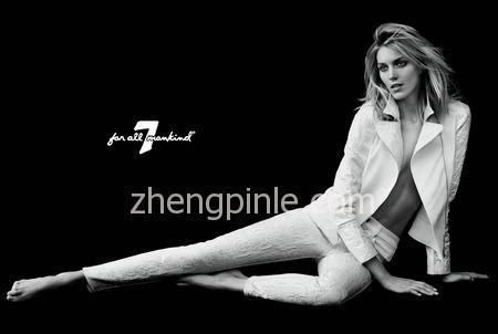 美国7 for all mankind牛仔裤时尚宣传海报