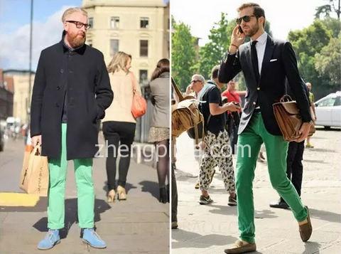 男装裤子选择搭配