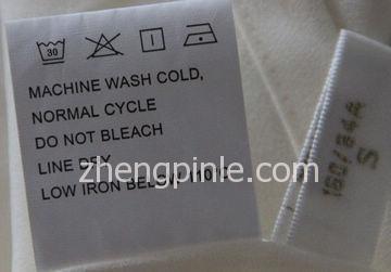正品fiveplus水洗标示例2